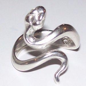 01d5c652a Wellstone Jewelry | Snake Ring 925 Sterling Silver Adj 6 9 | Poshmark